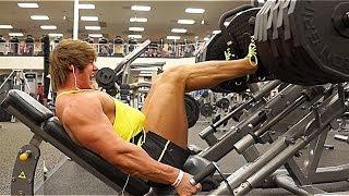Leg Workout W Jeff Seid