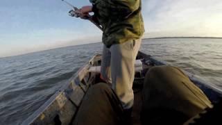 Рыбалка у шамбайского острова