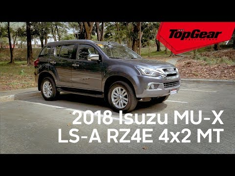 The Isuzu MU-X now comes with a 1.9-liter engine