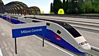 Euro Train Simulator - Quick Mode - Milano Centrale To Modane (Android Game)