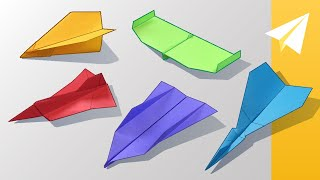 Paper Airplane Contest Finalists — Which Plane Will Win!?