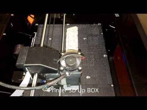Prezentare video UP Box 3D Printer