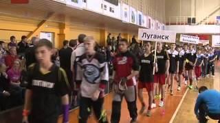 В Великом Новгороде стартовал первый детский международный чемпионат по флорболу