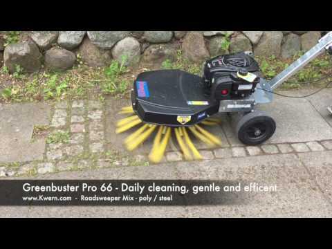 Kwern Wildkrautbürtse Greenbuster Pro III