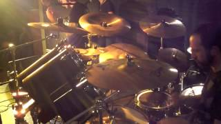 Dream Theater - Scarred - cover by Gemini Paradox - drum cam (Zoom Q2 HD)