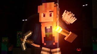 """♫ """"MINES BELOW"""" ♫ - BEST MINECRAFT SONG - Top Minecraft Song / Minecraft Music"""