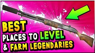 Fallout 76 - BEST Places To LEVEL FAST & FARM LEGENDARY Weapons (Fallout 76 Fast Leveling Guide)