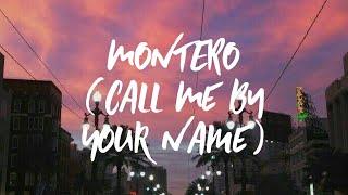 Lil Nas X - MONTERO (Call Me By Your Name) (Clean Lyrics)