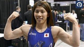 レスリング霊長類最強女子と呼ばれる吉田沙保里のトレーニング筋トレ