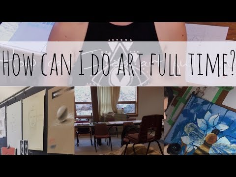Being a Full Time Artist | 4 ways to make money as an Artist| Schutt Art