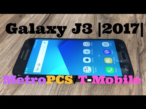 Video over Samsung Galaxy J3 (2017)