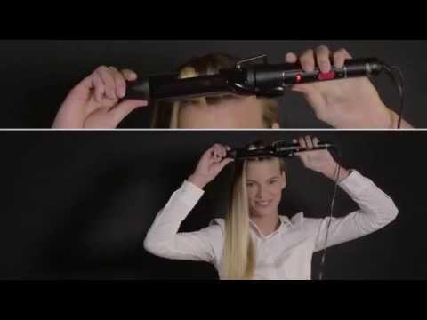 Rowenta for Elite Model Look – tutorial na zawijany kok