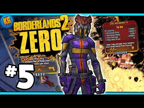 FINALLY A GOOD BEE?! - Road to Ultimate Zer0 | Day #5 [Borderlands 2]