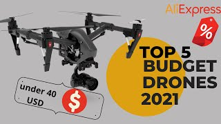 Top 5 New Best Budget Drone On AliExpress (Under $40) products that need to buy AliExpress |2021|