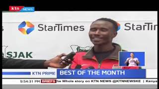 Kenyan Athlete Vincent Mutai is the Best of Player of the Month of April 2019
