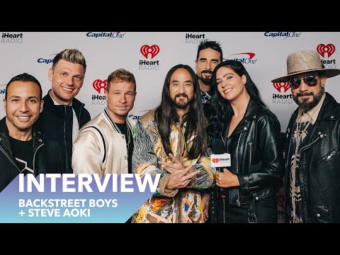 Backstreet Boys and Steve Aoki tell us the story of Let it Be Me at iHeartFestival 2019