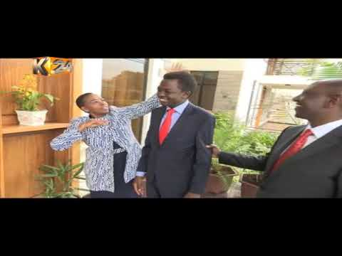 DP William Ruto's light moments before attending the inauguration