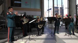 オー・シャンゼリゼ吹奏楽:陸上自衛隊第2音楽隊の演奏