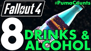 Top 8 Best Drinks, Alcohol And Other Liquid Consumables In Fallout 4 #PumaCounts