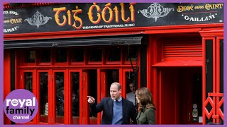 Prince William And Kate Visit Tig Coili Pub In Galway