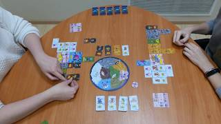 Игра Планета монстров. Игровая партия (2 игрока)