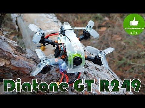 ✔ FPV Микро Квадрокоптер Diatone 2019 GT R249 95mm - Полный Обзор!