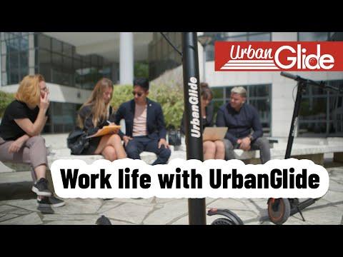 "Urbanglide RIDE 100S Patinete Eléctrico Ruedas 10"" 10Ah"