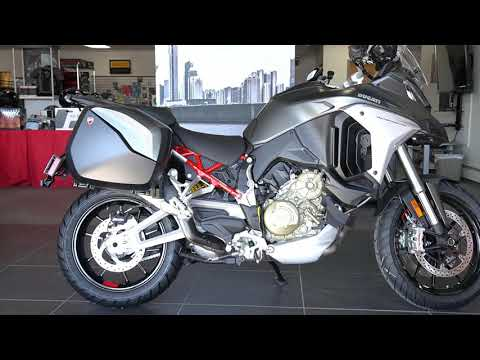 2021 Ducati Multistrada V4 S Travel & Radar in West Allis, Wisconsin - Video 1