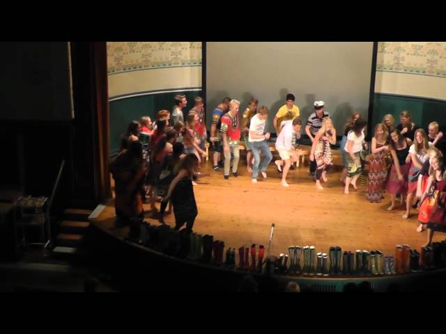 Thela (African Folk Song) - Choir Performance by N3A of Kungsholmens Gymnasium 2011
