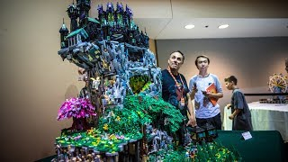 Awesome Animated LEGO Sculpture! - Video Youtube