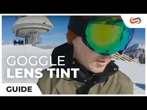 Ski and Snowboard Goggle Lens Tint Guide