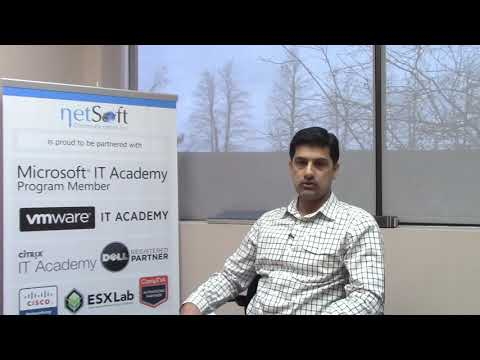 NetSoft College Testimonial Asif Iqbal