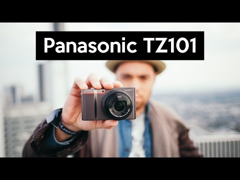 Panasonic DMC-TZ101 | geniale 4K Pocketkamera mit super-Zoom