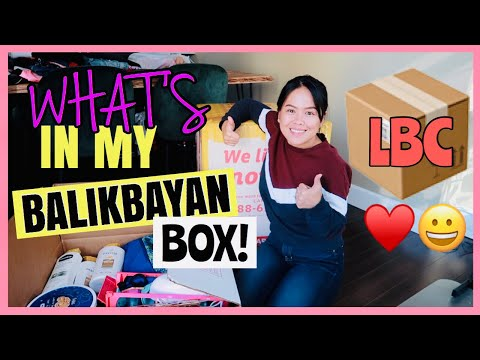 WHAT'S IN MY BALIKBAYAN BOX 2019 | Fey's Vlog