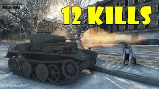World of Tanks - PURE Gameplay [PZ 1 C | 12 KILLS by connorthechessking]