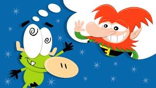 El amigo imaginario de Otto - Parte 1 - Caricaturas animadas infantiles