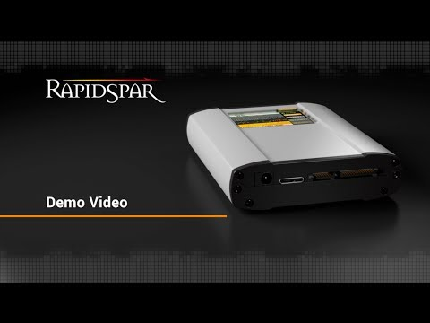 RapidSpar data recovery device and software