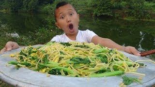 Làm Mâm Mỳ Ý Xào Trứng Phong Cách Ẩm Thực Thượng Thừa Cho Lợn Cười Vỡ Bụng Với Mao Đệ
