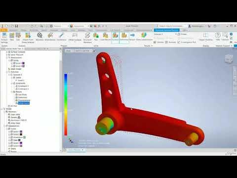 AutoDesk Inventor Nastran - Course - YouTube