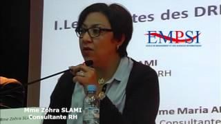 Mme Zohra Slami le metier de DRH