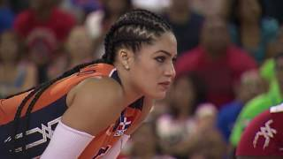 Republica Dominicana vs Puerto Rico - XV Copa Panamericana de Voleibol 2016 Final - Parte 1