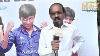Director Nithyanandham at Puthiyathor Ulagam Seivom Audio Launch