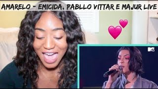 MTV MIAW 2019   AmarElo   Emicida, Pabllo Vittar E Majur   REACTION