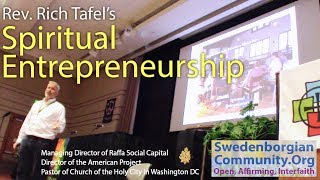 Spiritual Entrepreneurship by Rev. Rich Tafel