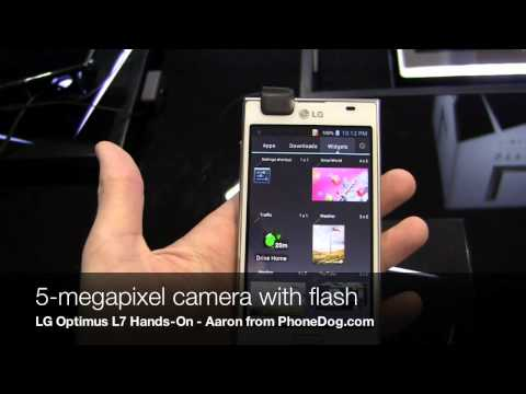 LG Optimus L7 Hands-On