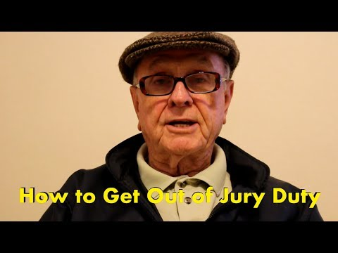 This 90 year old YouTuber used to make absolutely hilarious 'advice' videos. Sadly, last month he passed away. Here's his advice on how to get out of jury duty.