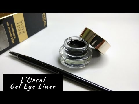 L'Oreal Paris Super Liner Gel EyeLiner | Review