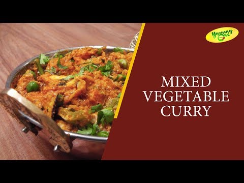 How to Make Mixed Vegetable Curry || YummyOne