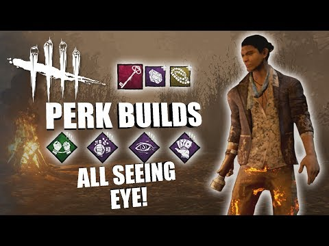 ALL SEEING EYE! | Dead By Daylight LEGACY SURVIVOR PERK BUILDS