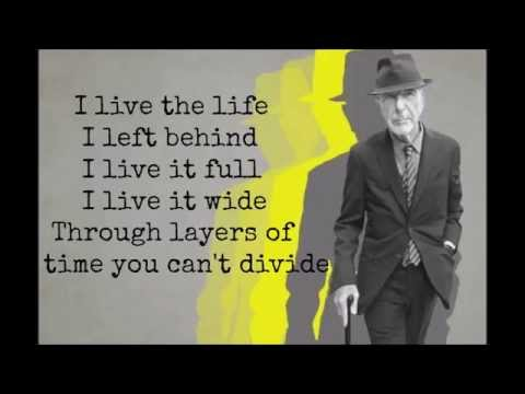 Nevermind- Leonard Cohen (True Detective Season 2)